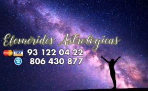 Significado de las efemérides astrológicas